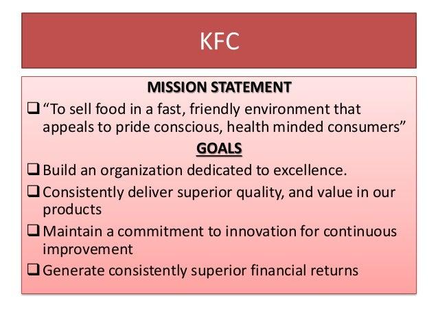 kfc competitive advantage