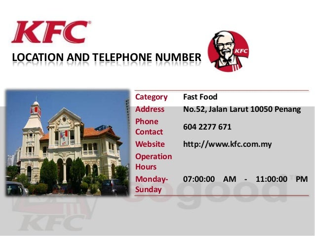 Welcome to KFC - PowerPoint PPT Presentation