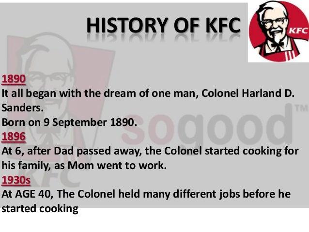 kfc history and communication