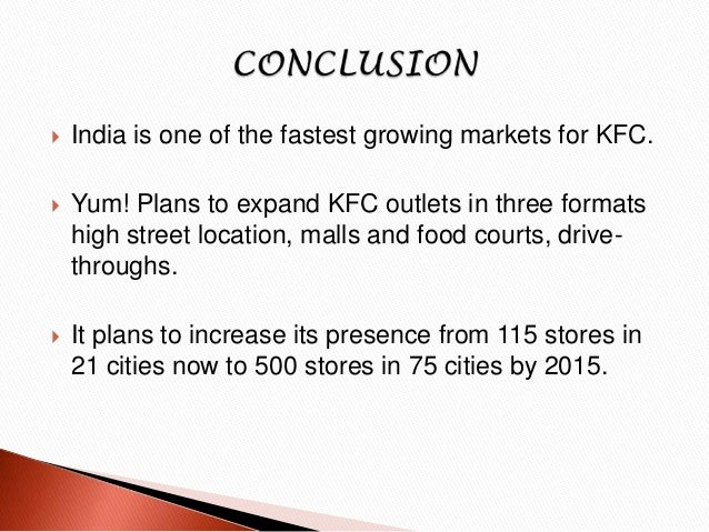 kfc financial analysis Find company research, competitor information, contact details & financial data for kfc corporation (de) get the latest business insights from d&b hoovers.
