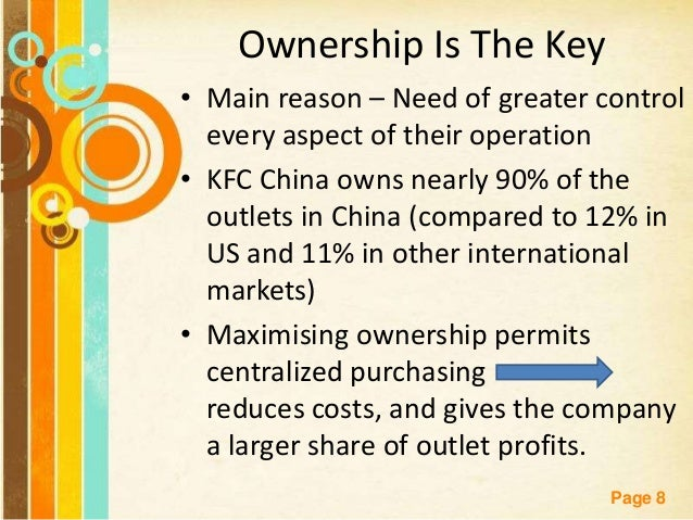 the changes of ownership for kfc Justia trademarks categories hotels and restaurants kfc - trademark details kfc - trademark details  kentucky fried chicken  assignment of ownership not .