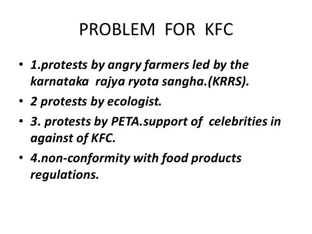 kfc controversy in india Arbitration and dispute resolutionany controversy or claim arising out of or relating to your use of the kfc site or your submitted content shall be settled by binding arbitration in a location determined by the arbitrator as set forth herein (provided that such location is reasonably convenient for claimant), or at such other location as may.