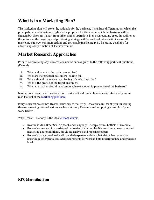 kfc marketing strategy-pdf