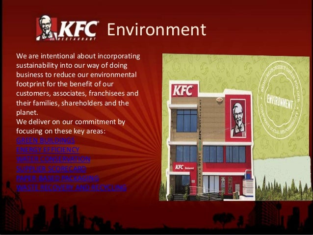 KFC Switches to Earth-Friendly Packaging