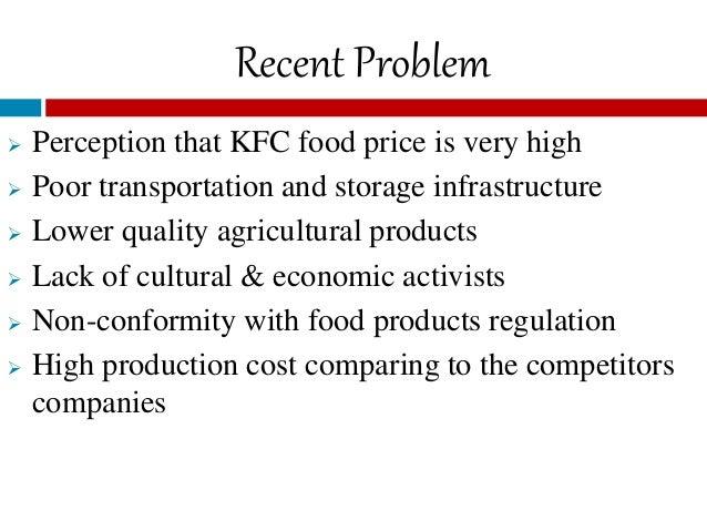 Service quality perception at kfc pakistan