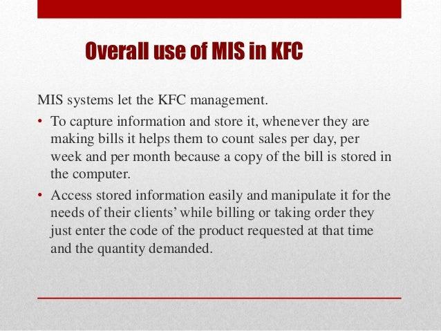 kfc management functions