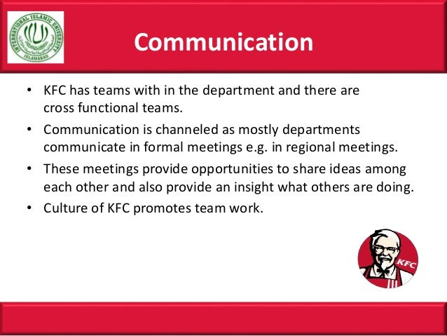 kfc department