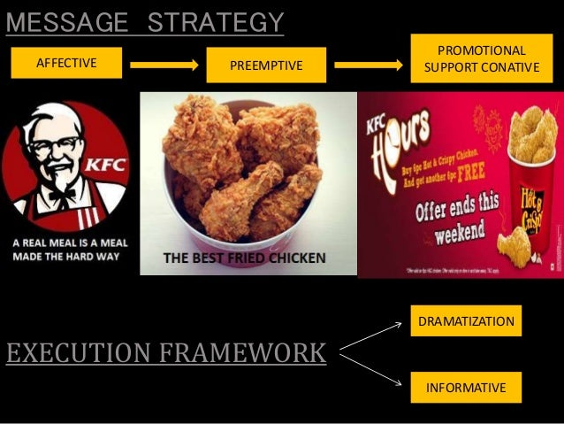 kfc marketing plan Marketing strategy of kfc corporation : kfc corporation (kfc), founded and also known as kentucky fried chicken, is a chain of fast food restaurants based in louisville, kentucky, in the united states.