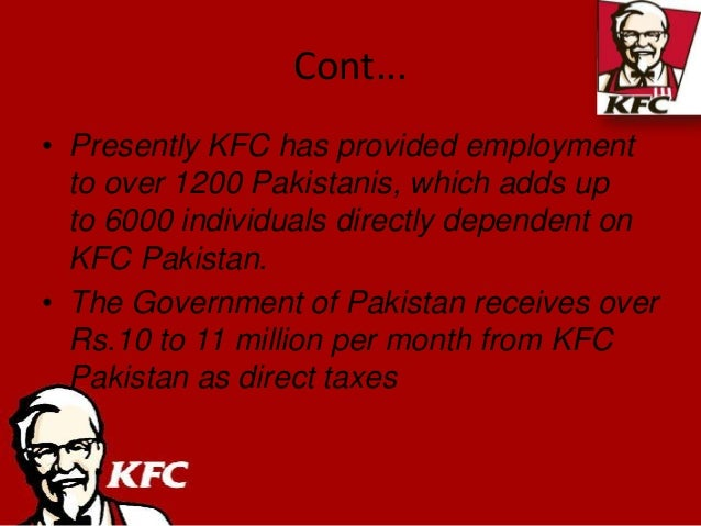 kfc strategic brand managemnt Marketing mix-kfc uploaded by rubel kfc promotion strategy is the logo itself today the colonel's spirit and heritage are reflected in kfc's brand.