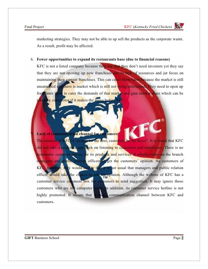 marketing project kfc Looking for an advanced project idea here is my video, to help you out thank you please subscribe.