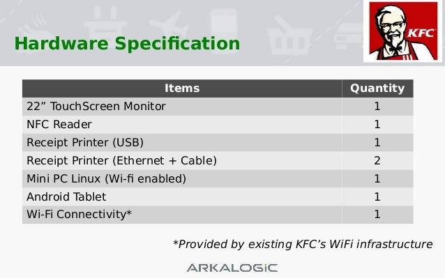 KFC Self Service Terminal