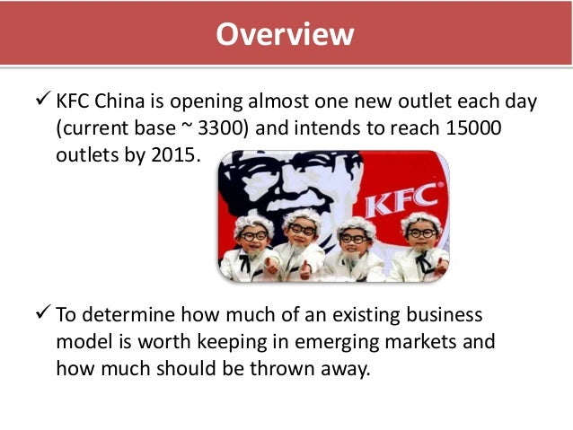 case study of kfc