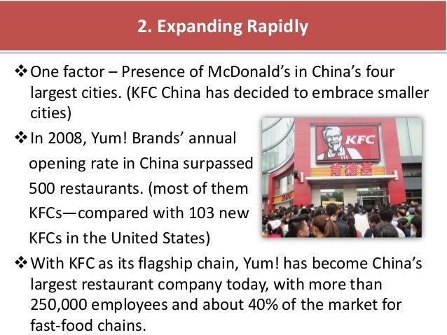kfc case study human resouce problem china