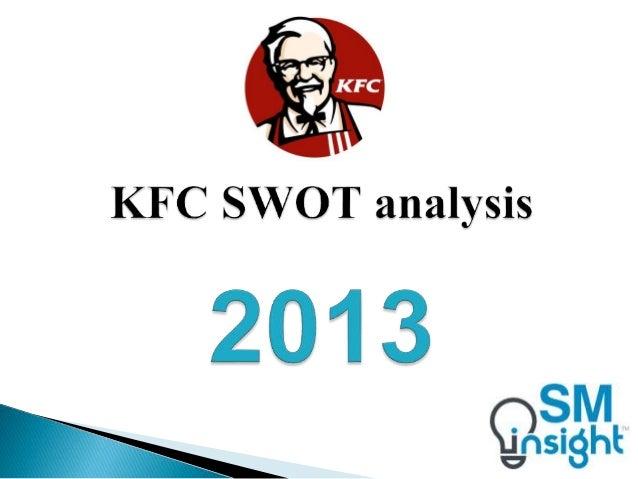 SWOT analysis of KFC