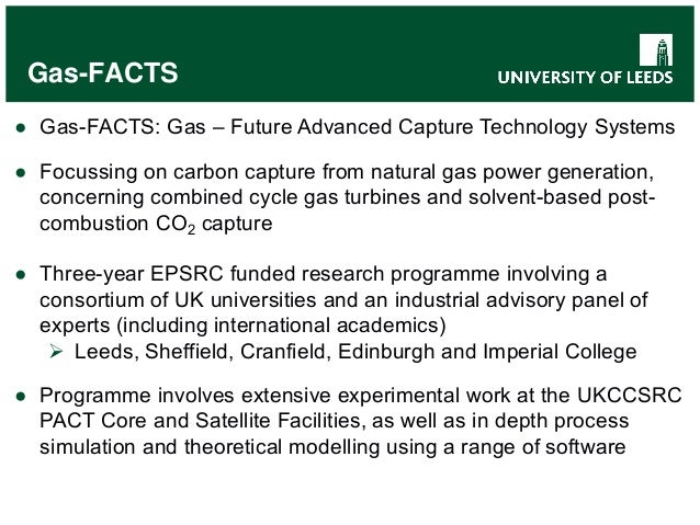 Gas Turbines At PACT Talk By Karen Finney University Of Leeds At