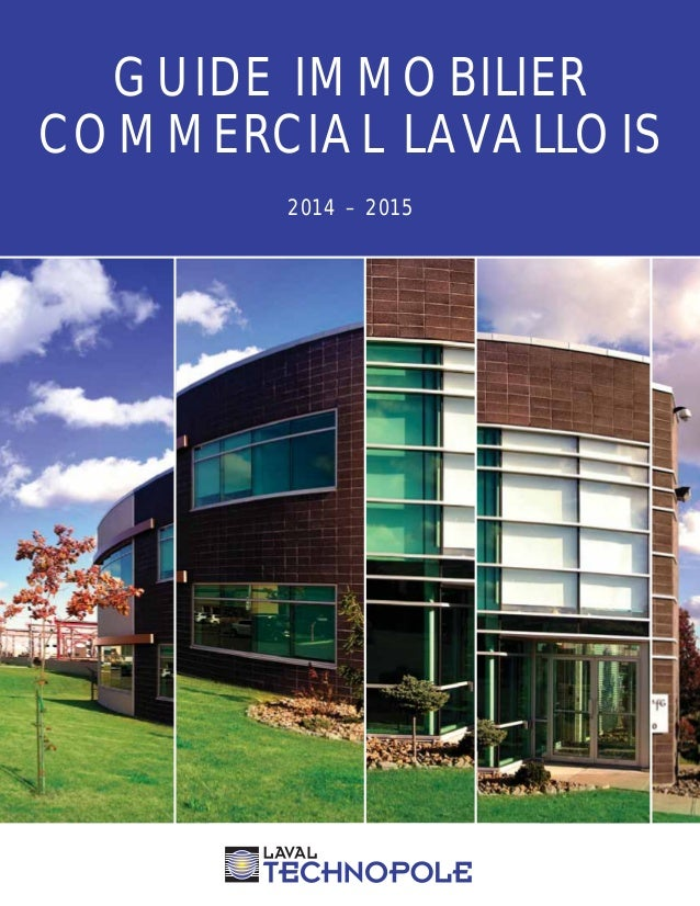 GUIDE IMMOBILIER  COMMERCIAL LAVALLOIS  2014 – 2015