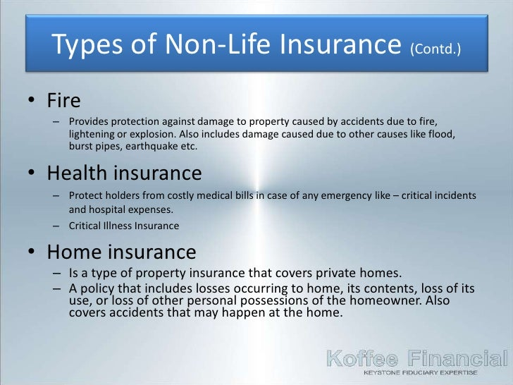 4 Insurance Non Life Insurance