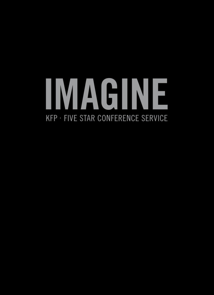 ImagIne KFP · Five Star ConFerenCe ServiCe