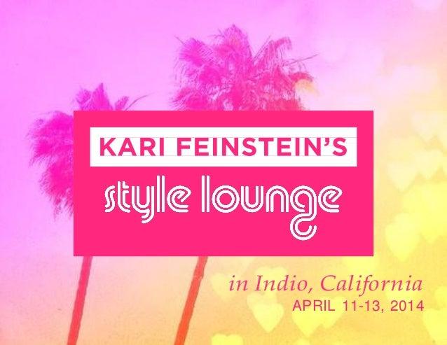 in Indio, California APRIL 11-13, 2014