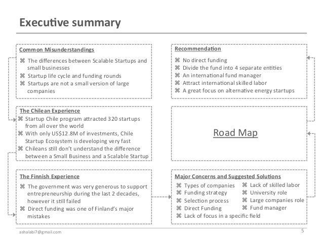 Execu7ve summary  Common Misunderstandings                                                   Recommenda7on   T...