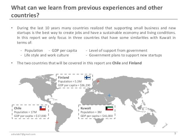 What can we learn from previous experiences and other countries?  • During  the  last  10  ...