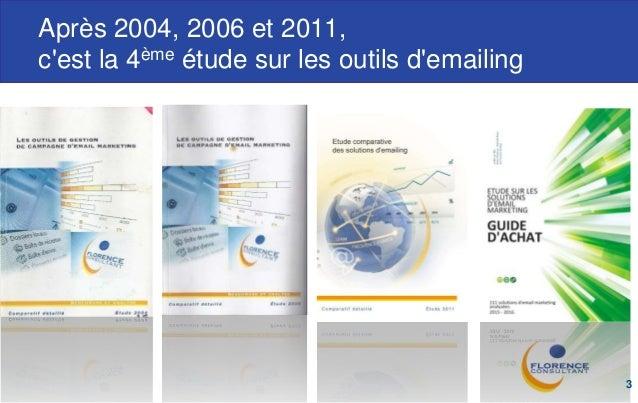 Etude internationale sur les solutions d'emailing 2015 Slide 3