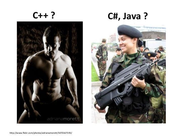 C++ 강력하지만 생산성이 없다……C++ 강력함과 생산성이 뛰어난…