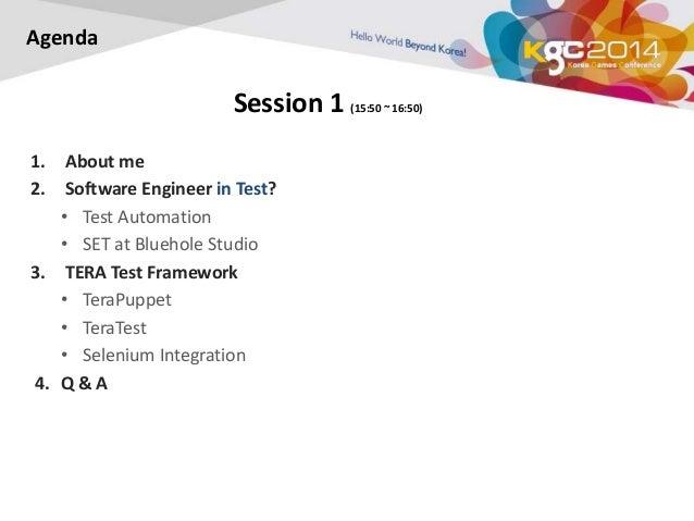KGC 2014, 'Software Enginner in Test' in Game Development (English Ve…