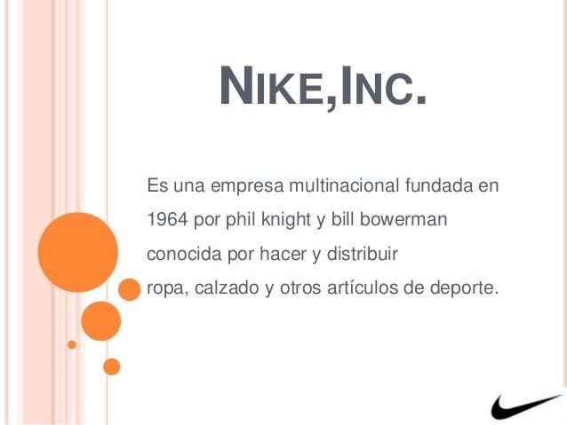 Psiquiatría Grupo puntada  Empresa Nike, Inc