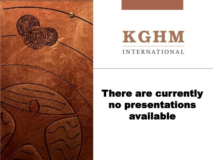 There are currently no presentations     available