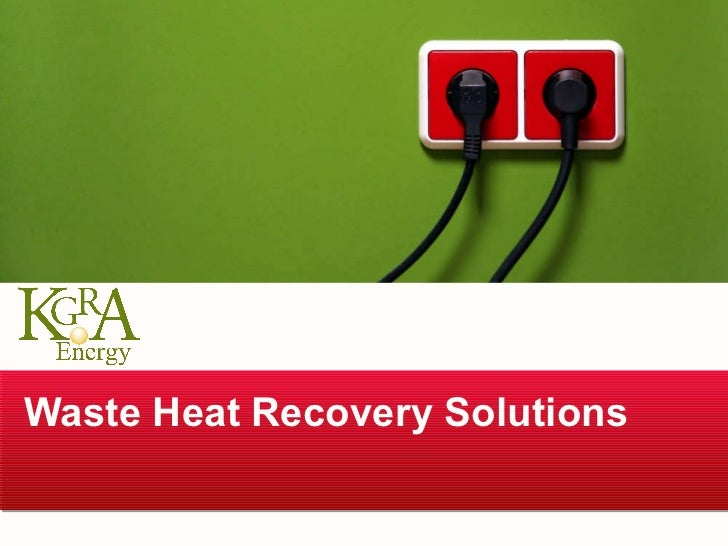 Waste Heat Recovery Solutions