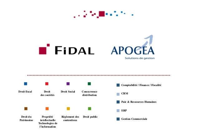 Droit fiscal Droit SocialDroit des sociétés Concurrence distribution Propriété intellectuelle Technologies de l'informatio...