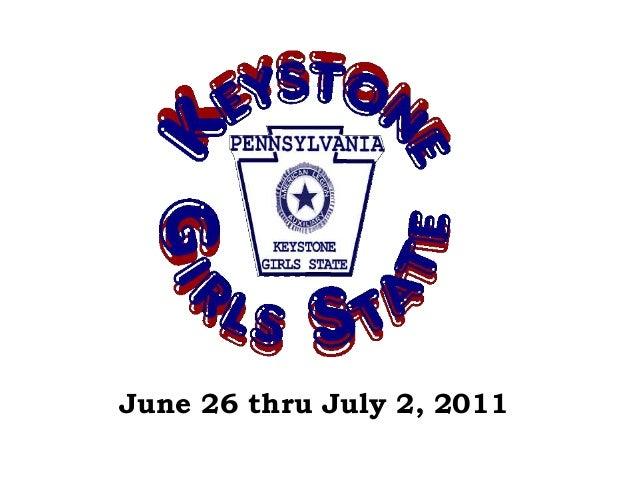 June 26 thru July 2, 2011