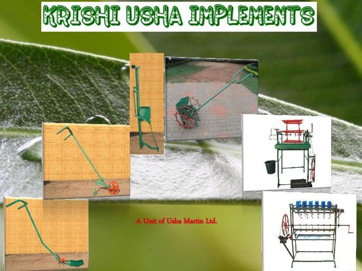 A Unit of Usha Martin Ltd.Powerpoint Templates         Page 1