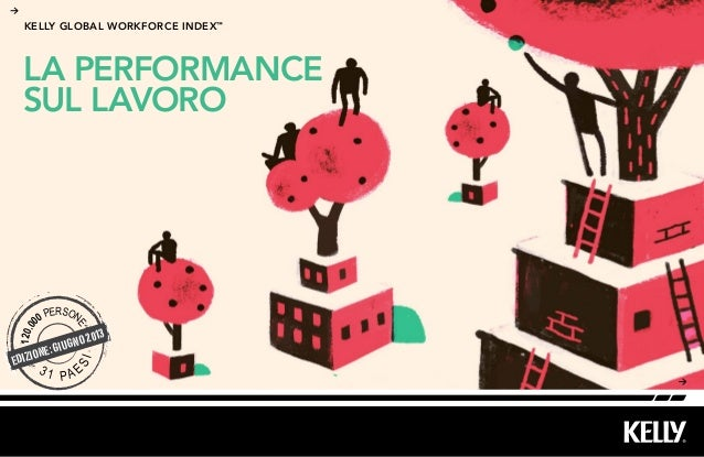 LA PERFORMANCESUL LAVOROkelly Global workforce index™EDIZIONE: GIUGNO 2013120.000 PERSONE3 1 PA ESI