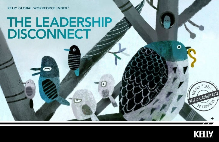 kelly Global workforce index ™The leadershipdisconnect                                             people                 ...
