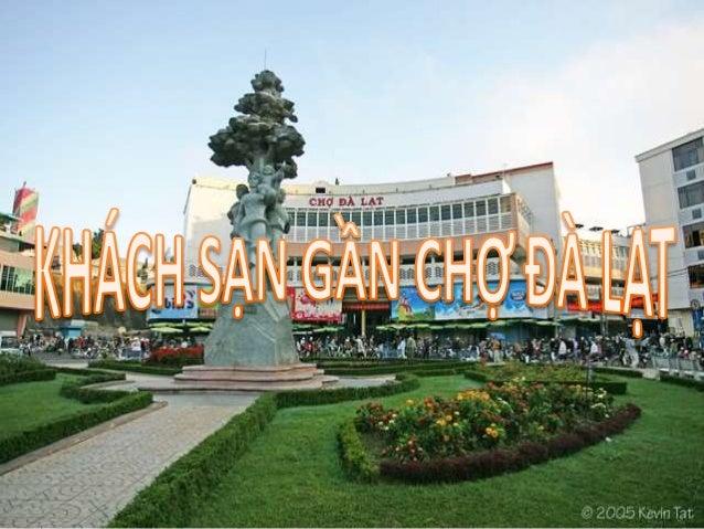 Hình ảnh chợ Đà Lạt nhìn toàn cảnh từ bên ngoài