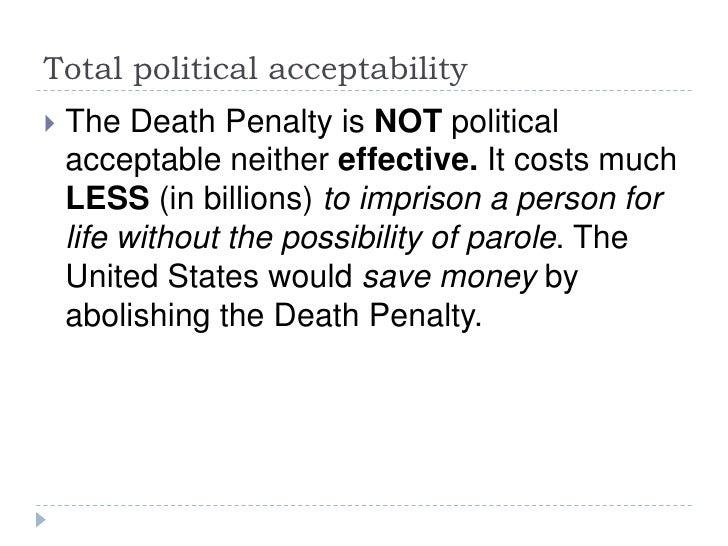 Khadija Jones - Death Penalty Thesis Presentation