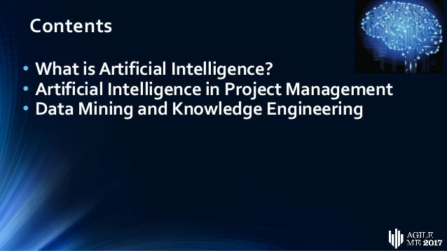 Artificial Intelligence in Project Management by  Dr. Khaled A. Hamdy Slide 3