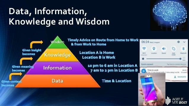Data, Information, Knowledge and Wisdom