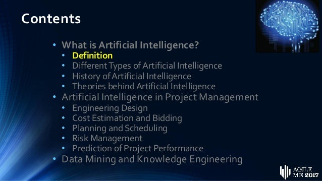 Artificial Intelligence in Project Management by Dr ...