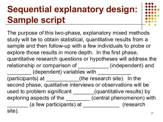 the use of quantitative research design to properly address the research questions About iat 802 quantitative research methods and design or the craft of scientific the overarching goal of this course is to help you develop the knowledge & skills essential for.