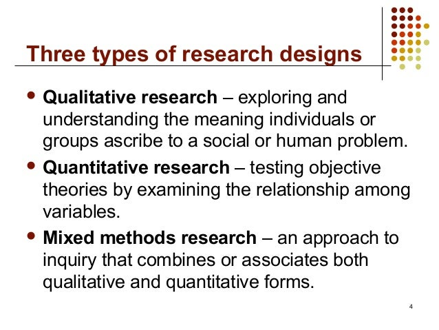 methodology in quantitative research When to use quantitative methods this module describes when to choose quantitative methodology in research and explores the difference between qualitative and.