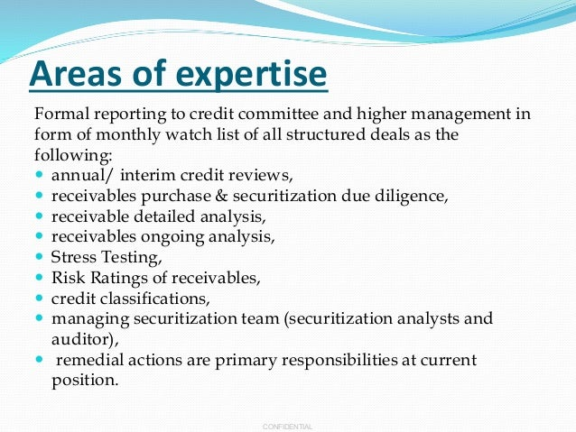 Great ... 8. CONFIDENTIAL Areas Of Expertise ... For Areas Of Expertise List