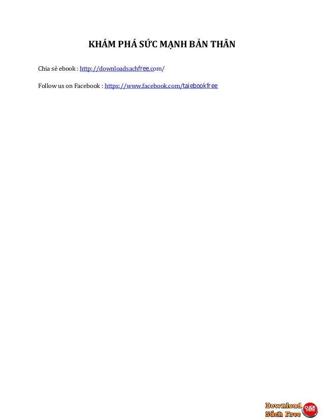 Khám phá sức mạnh bản thân pdf - tải sách miễn phí Slide 2