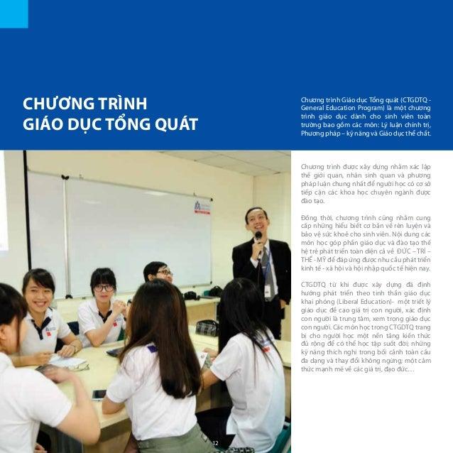 CHƯƠNG TRÌNH GIÁO DỤC TỔNG QUÁT Chương trình Giáo dục Tổng quát (CTGDTQ - General Education Program) là một chương trình g...