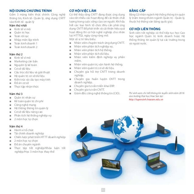 NỘI DUNG CHƯƠNG TRÌNH Gồm 3 mảng kiến thức chính: Công nghệ thông tin, Kinh tế- Quản lý, ứng dụng CNTT vào Kinh tế- quản l...