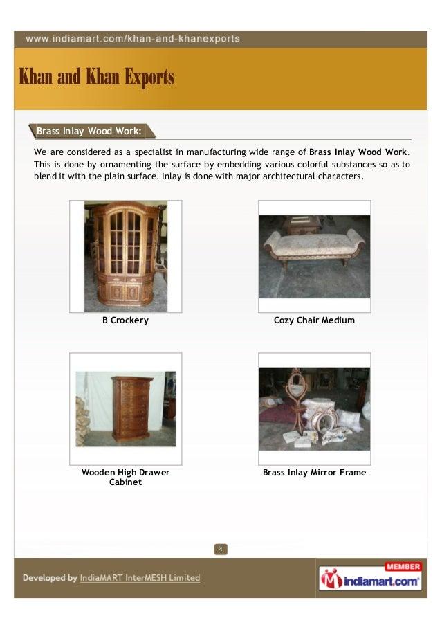 Khan Khan Exports Saharanpur Wooden Jewelry Boxes