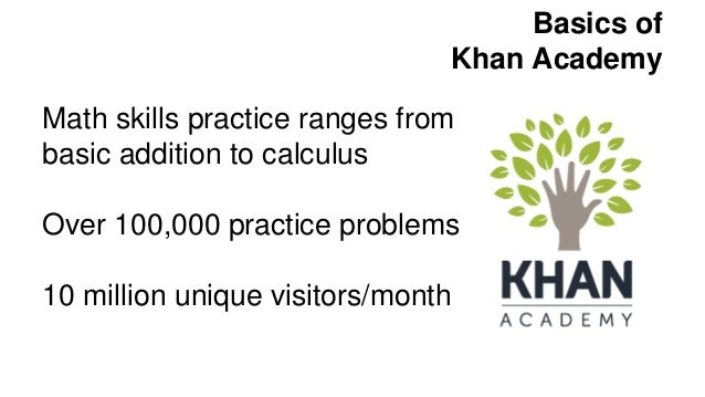 Khan Academy and TenMarks: Personalized Learning Resources for the Cl…