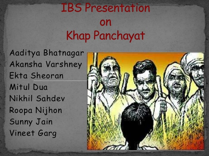 khap panchayats a sociohistorical overview Khap panchayats have had a long innings in the jat-dominated areas of north- western india and some of their decisions that go against individual rights have.